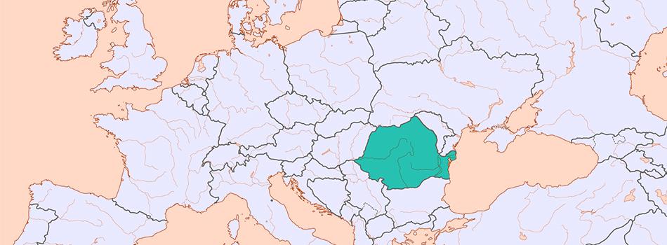 Romania at a glance